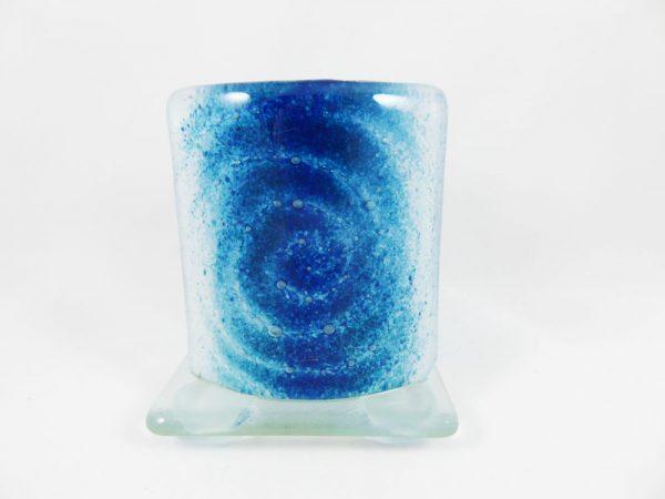 Photophore en verre fusionné