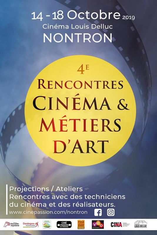 Rencontres Cinéma & Métiers d'Art à Nontron – 2019