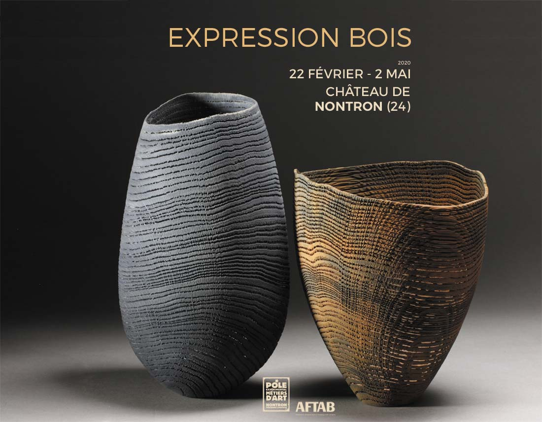 «Expression Bois» – Exhibition of turned wood in Nontron