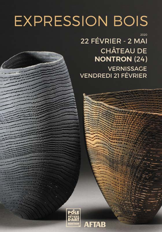 Expression Bois – exposition de bois tourné à Nontron