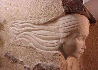 Rudy BECUWE, Rudy sculpteur, Sculpteur sur pierre