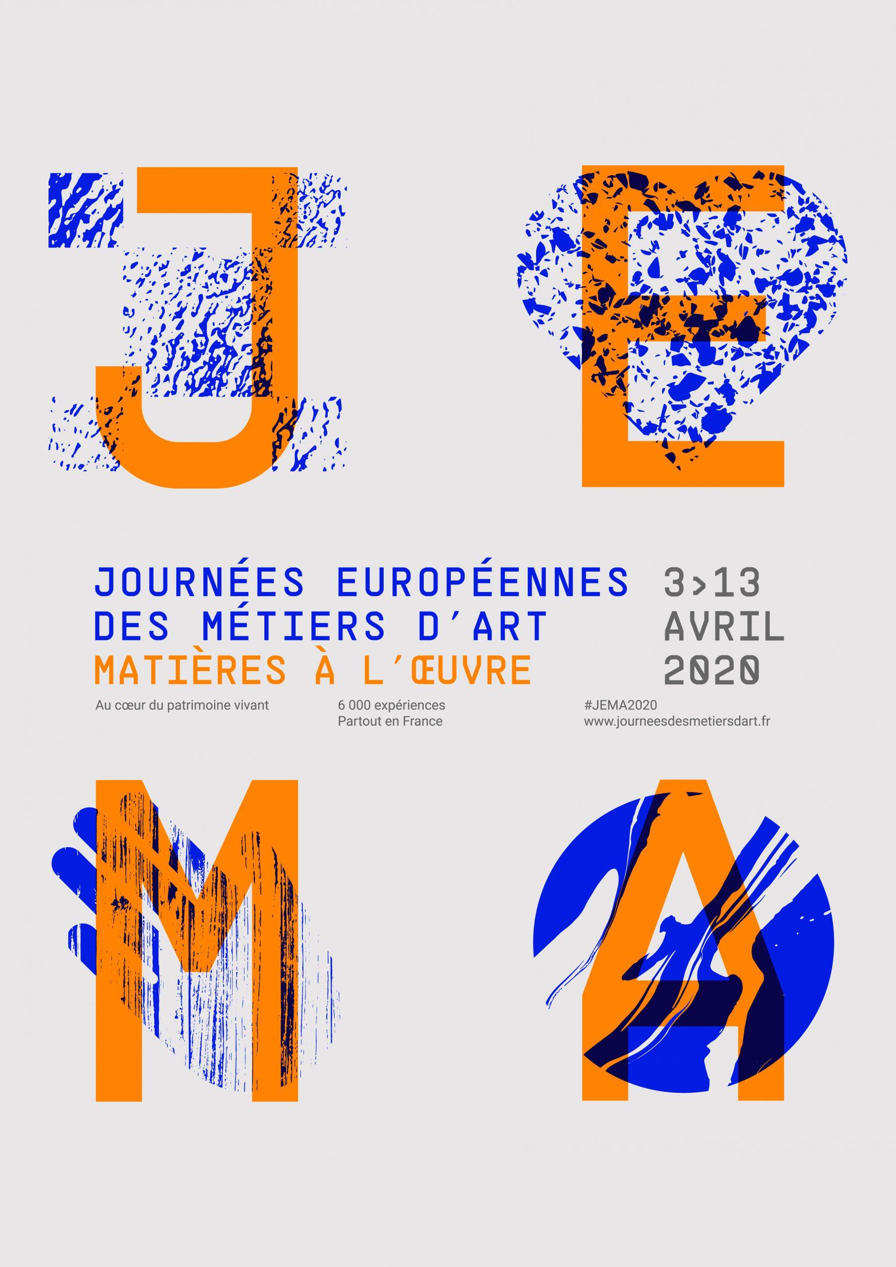 Journées Européennes des Métiers d'Art 2020 – Matière à l'oeuvre