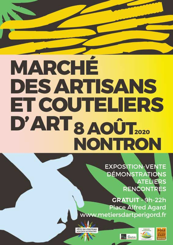 Marché des artisans et couteliers d'art à Nontron