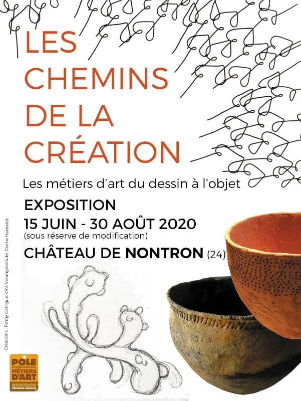 Les Chemins de la Création – exposition métiers d'art à Nontron