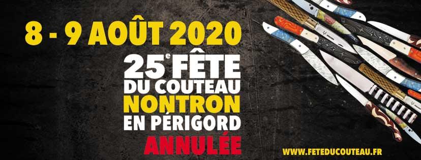 Fête du couteau 2020 – Annulation