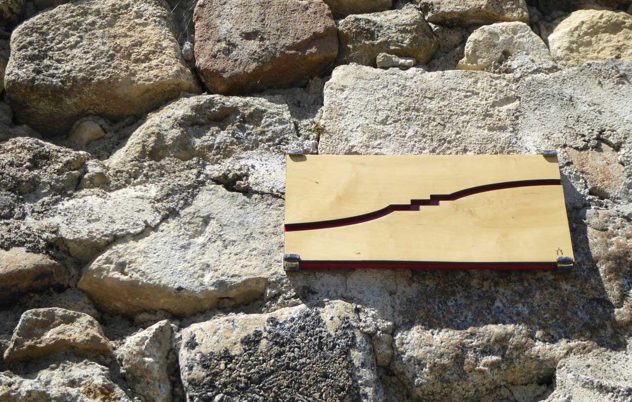 Signe réalisé par la Coutellerie nontronnaise - Itinérance nontronnaise, les signes métiers d'art