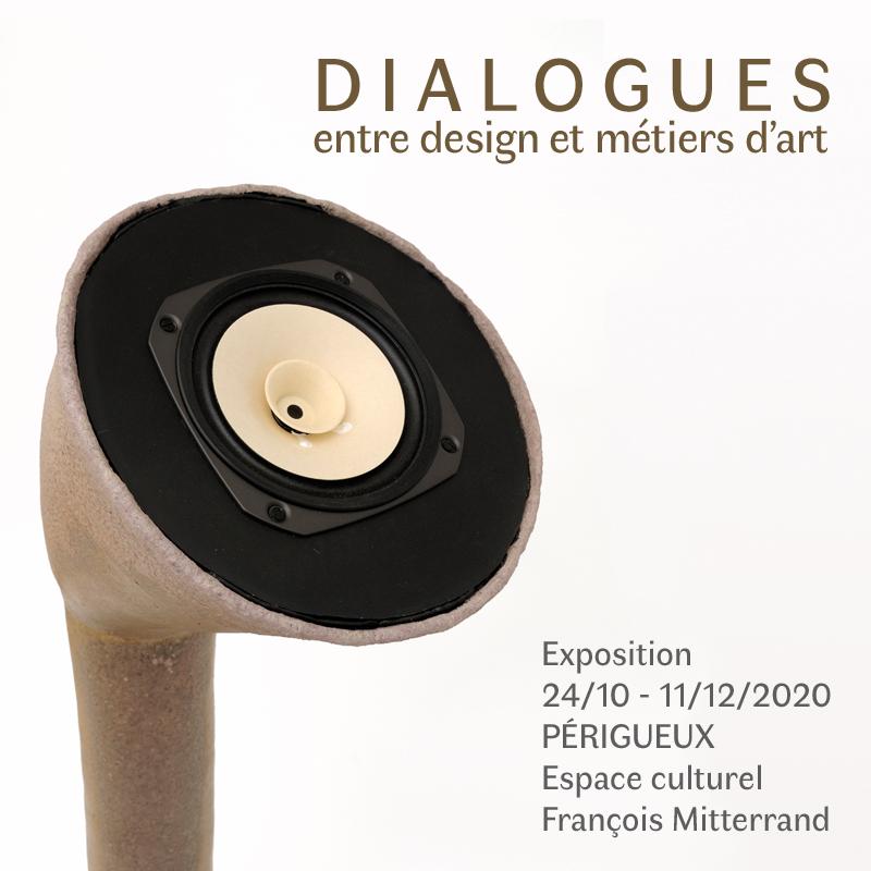 Dialogues entre design et métiers d'art – exposition à Périgueux