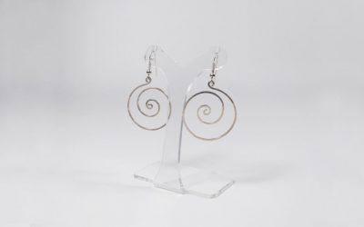 Boucles d'oreilles «spirales»