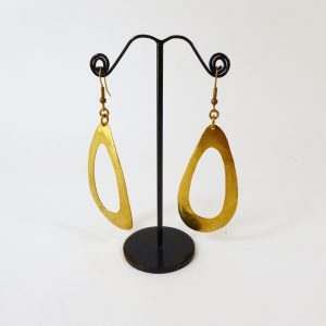 Boucles d'oreilles gouttes ajourées - Marie-Paule Thuaud