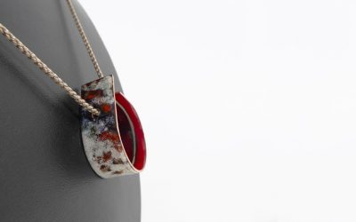 Collier collection «Infinite» marron