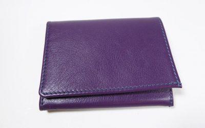 Porte-monnaie violet
