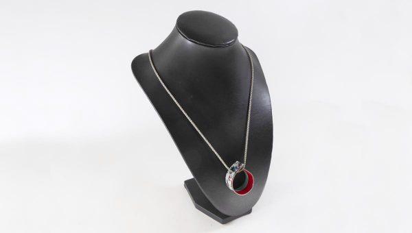 Collier collection Infinite gris - Natacha Baluteau