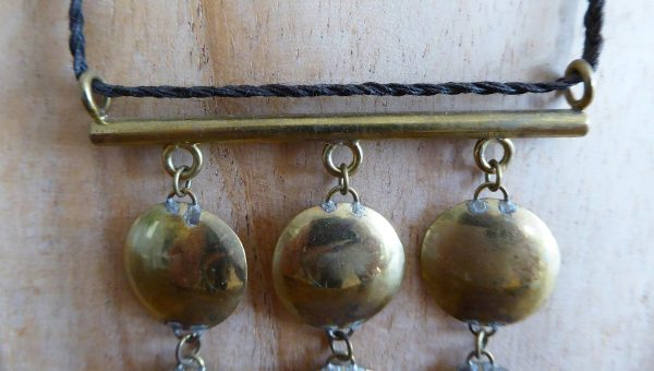Collier 9 disques - Marie-Paule Thuaud