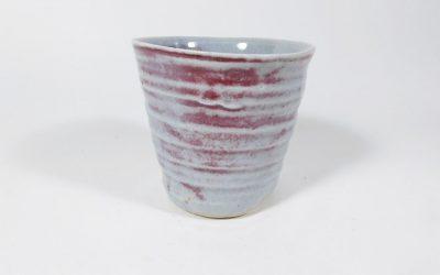 Gobelet coulé en porcelaine