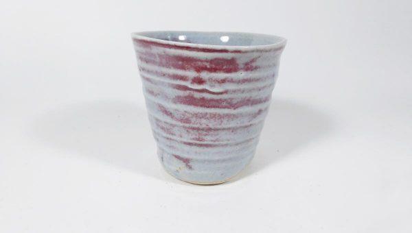 Gobelet coulé - porcelaine - sandrine Lanoë