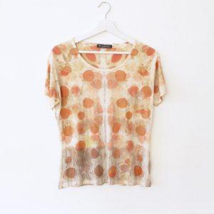 Marlene Popovic - Les jardins d'Ila, Ennoblisseur textile, T-shirt