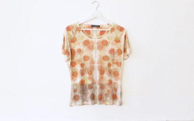T-shirt en soie