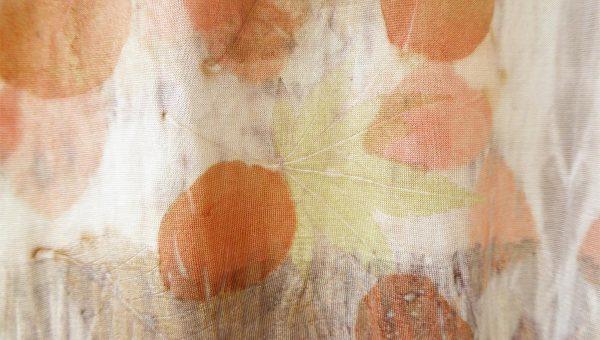 T-shirt en soie - Les jardins d'Ila