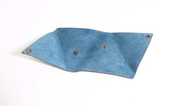 Triangolo bleu - cuir - Anne