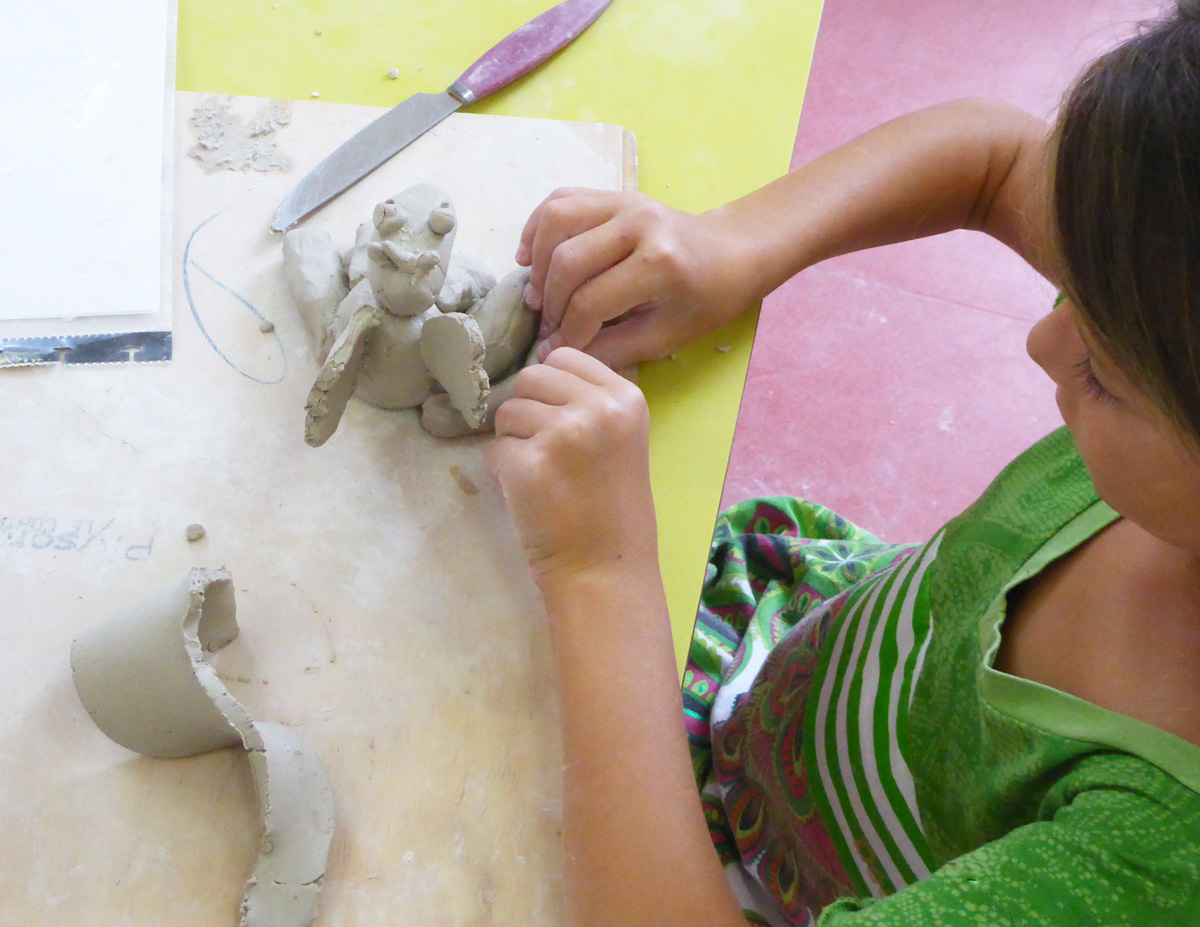 cours de modelage de la céramique -Claire Lepape