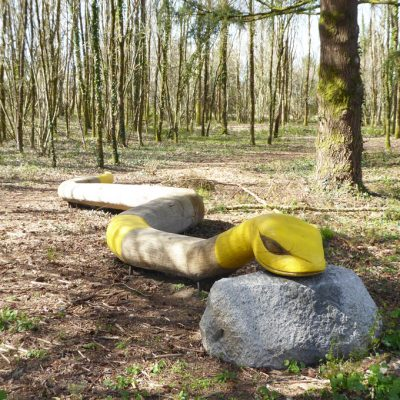 Serpent-Jardin des légendes-Rudy Becuwe-Abjat-Sur-Bandiat-carré