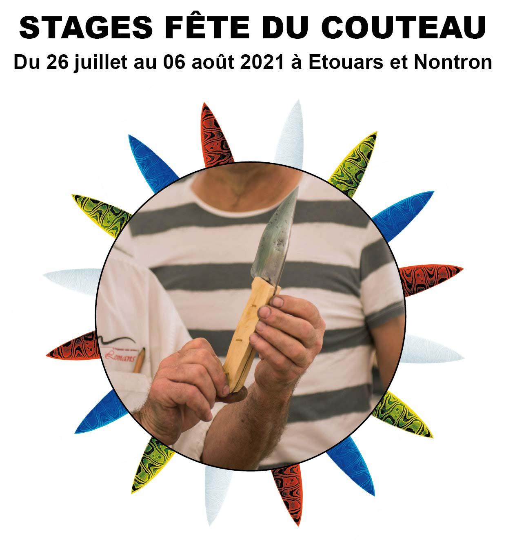 Stages fête du couteau 2021