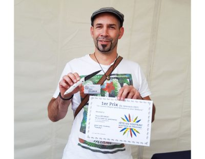 Yann Régibier - Lauréat du concours coutelier 2021