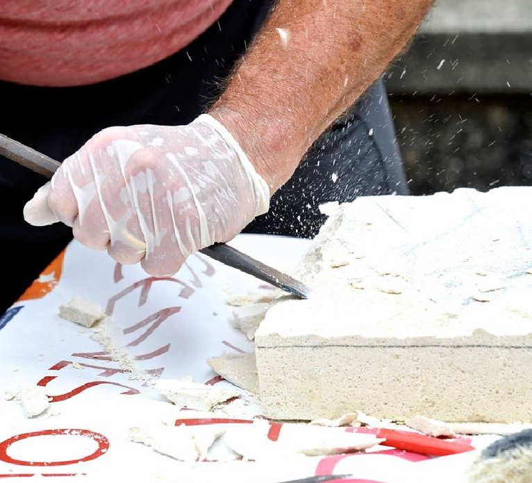 Cours de sculpture sur pierre à Nontron